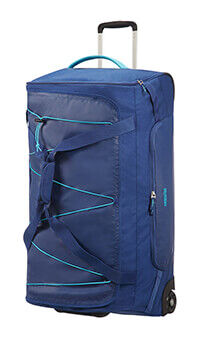 09b257a8e0 American Tourister Road Quest Duffle with Wheels L Deep Water Blue