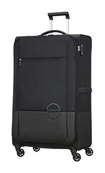 924076260681 American Tourister Instago Spinner 81cm Black Dark Grey