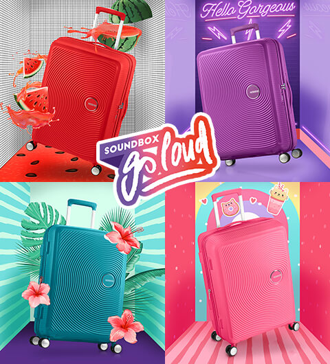 Lightweight Suitcases American Tourister
