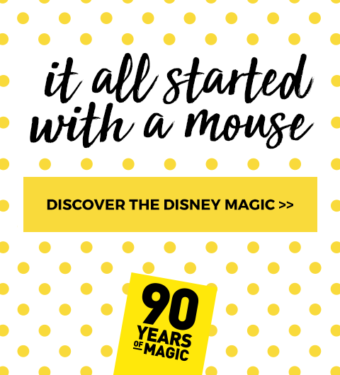 It all started with a mouse.. Discover the best of Mickey >>